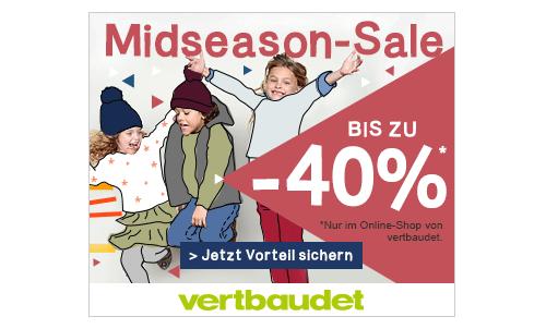 Mid Season Sale bei vertbaudet