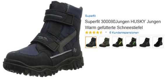 huge selection of 12d41 2399d Winterstiefel für Kinder   Schneeschuhe von Superfit Modell ...