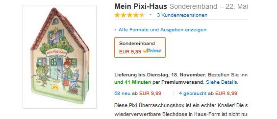 Das PIXI Haus billig