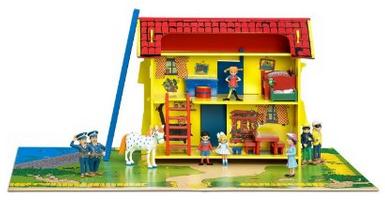 Pippi Langstrumpf Holzhaus reduziert