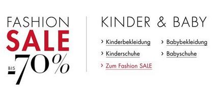 Fashion Sale für Kinder & Babys bei Amazon