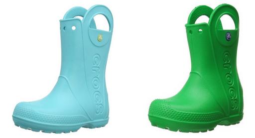 crocs Regenstiefel für Kinder billig oder reduziert
