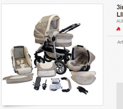 Kinderwagen-Set günstig & reduziert & versandkostenfrei