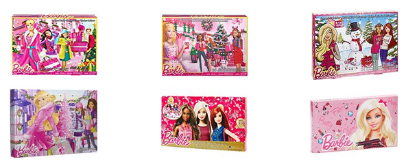 Barbie Adventskalender billig bei Amazon bestellen