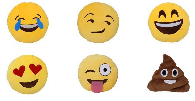 Emoji & Emoticons Kissen & Kuscheltiere billig & günstig