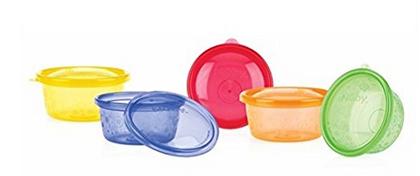 Nuby Schalen für Kinder & Pick-Nick-Essen