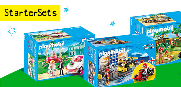 playmobil startersets g nstig bei intertoys. Black Bedroom Furniture Sets. Home Design Ideas