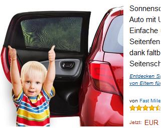 sonnenschutz f rs auto von fast mile 16 97 schn ppchen produktproben f r kind baby. Black Bedroom Furniture Sets. Home Design Ideas