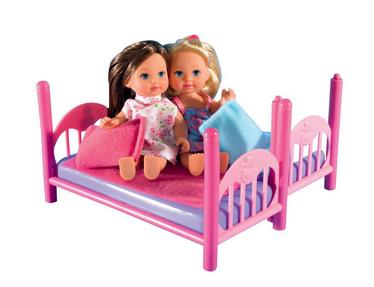 Evi Love Puppen im Kinderbett billig bei Amazon