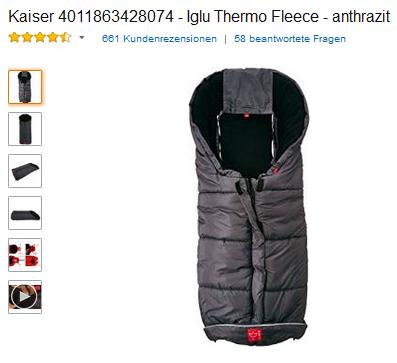Iglu Thermo Fleece von Kaiser