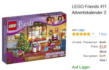 LEGO Friends Adventskalender billig & reduziert bei Amazon bestellen