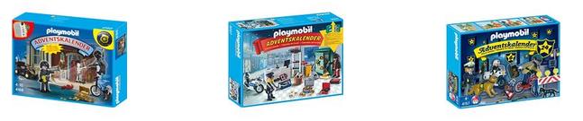 Polizeiliche Adventskalender von playmobil bei Amazon