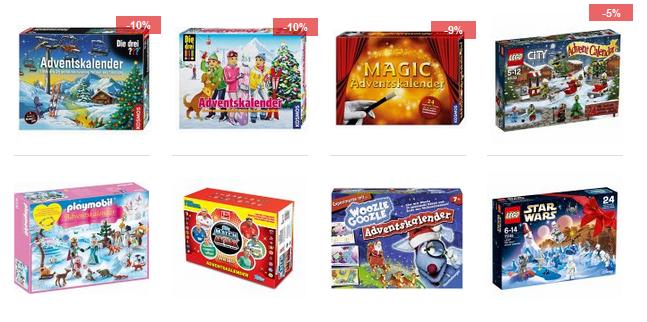 Spielzeug-Adventskalender für 2018 bei bücher.de » SparZwerge.de