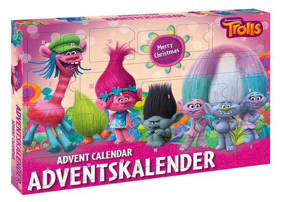 Adventskalender mit Trolls von Dreamworks
