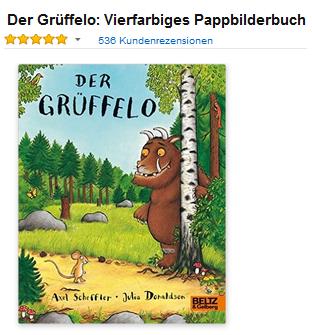 Der Grüffelo Buch als Geschenkidee