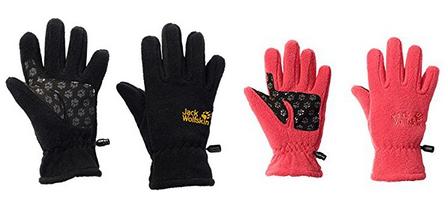 Kinder-Handschuhe aus Fleece von Jack Wolfskin