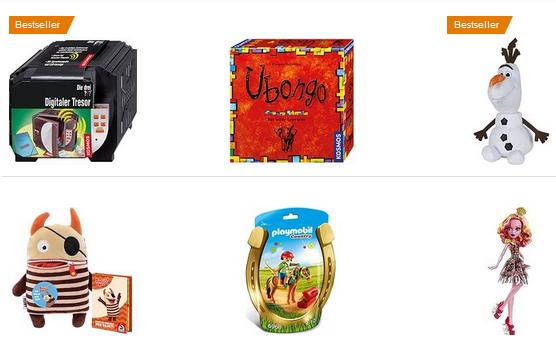 Spielzeug-Sale bei Amazon