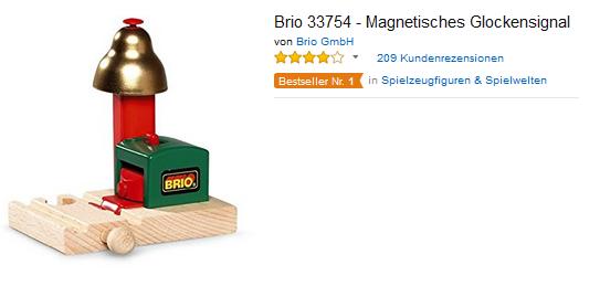 Brio 33754 Magnetisches Glockensignal