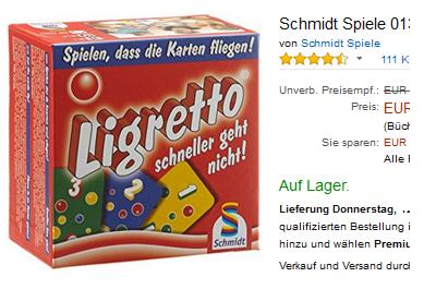 Ligretto Kinderspiel billig, reduziert bestellen