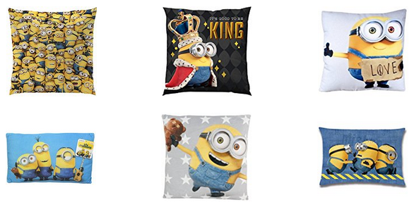 minions kissen f r kinder familien gro e auswahl bei. Black Bedroom Furniture Sets. Home Design Ideas