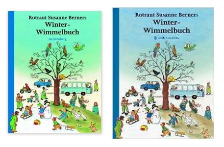 Winter-Wimmelbuch sehr billig und versandkostenfrei