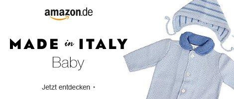 babykleidung lustige l tzchen made in italy bei amazon. Black Bedroom Furniture Sets. Home Design Ideas
