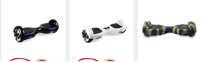 Hoverboards bei Intertoys