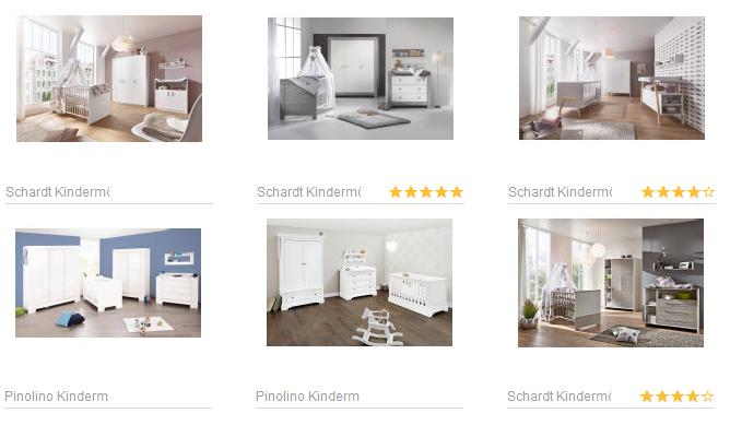 komplette babyzimmer einrichtung billig online bestellen screenshot schn ppchen. Black Bedroom Furniture Sets. Home Design Ideas