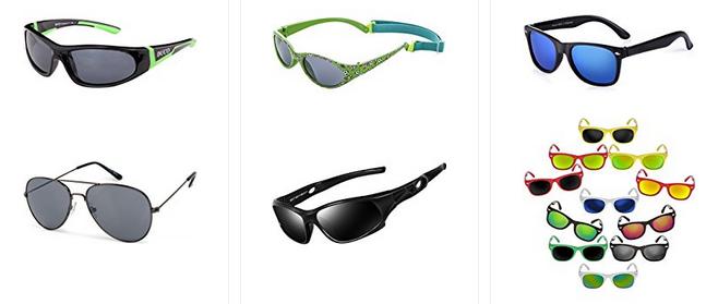 Kindersonnenbrillen bei Amazoon bestellen