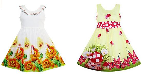 Mädchenkleider für Sommer & Frühling