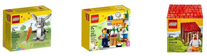 Ostern feiern mit LEGO-Spezialsets