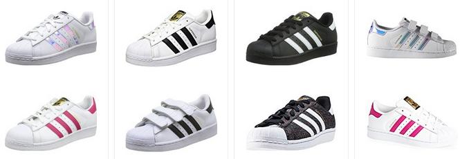 adidas superstar f r kinder sneaker f r m dchen und. Black Bedroom Furniture Sets. Home Design Ideas