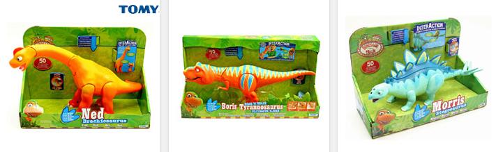 interaktive Dinosaurier von Tomy