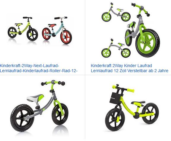 2Way Lern-Laufrad von Kinderkraft
