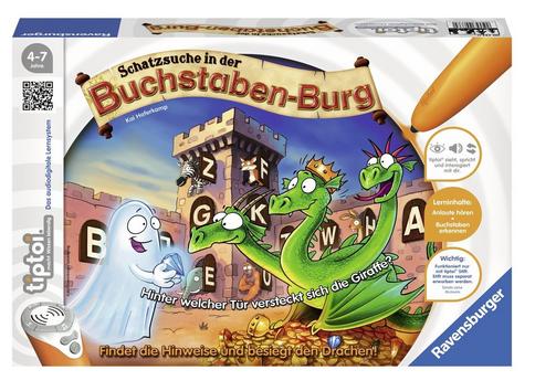 Schatzsuche in der Buchstaben-Burg