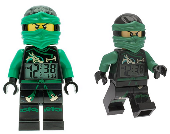 lego ninjago figur als wecker schn ppchen. Black Bedroom Furniture Sets. Home Design Ideas