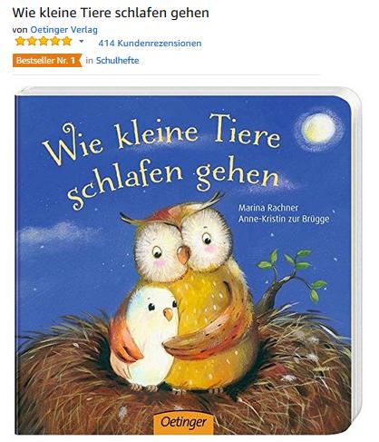 Wie kleine Tiere schlafen gehen: 5,99 Euro » SparZwerge.de