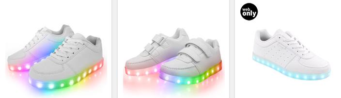 leuchtende LED-Sneaker für Kinder
