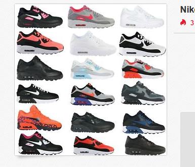 Nike Air Max 90 GS Sneaker für Frauen und Kinder