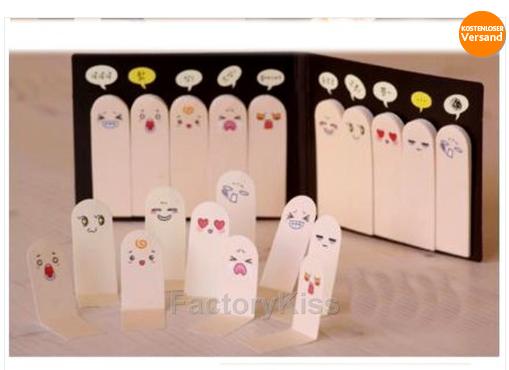 bookmarks im finger gesicht design nur 1 04euro notizen machen mit und ohne fingerzeig. Black Bedroom Furniture Sets. Home Design Ideas