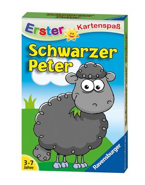 Schwarzer Peter für kleine Kinder als erster Kartenspaß von Ravensburger