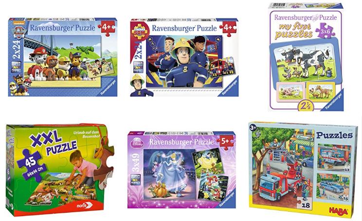 Amazon Angebote — Puzzles für Kinder unter 10 Euro