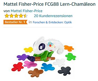 Lern-Chamäleon von Fisher-Price