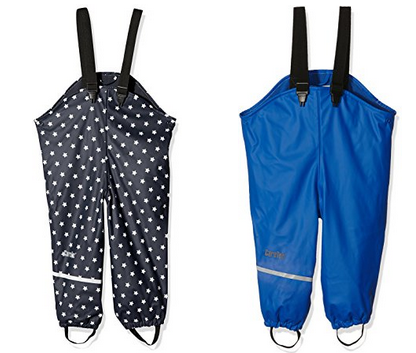 Regenhose mit Hosenträgen für Kleinkinder