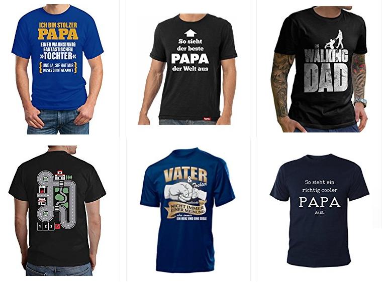 T-Shirts für Herren - Geschenkidee für Vater & Papa