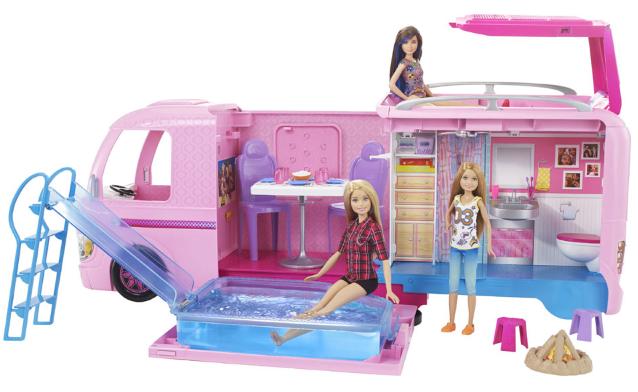 Barbie Super Abenteuer-Camper billig + Preisvergleich