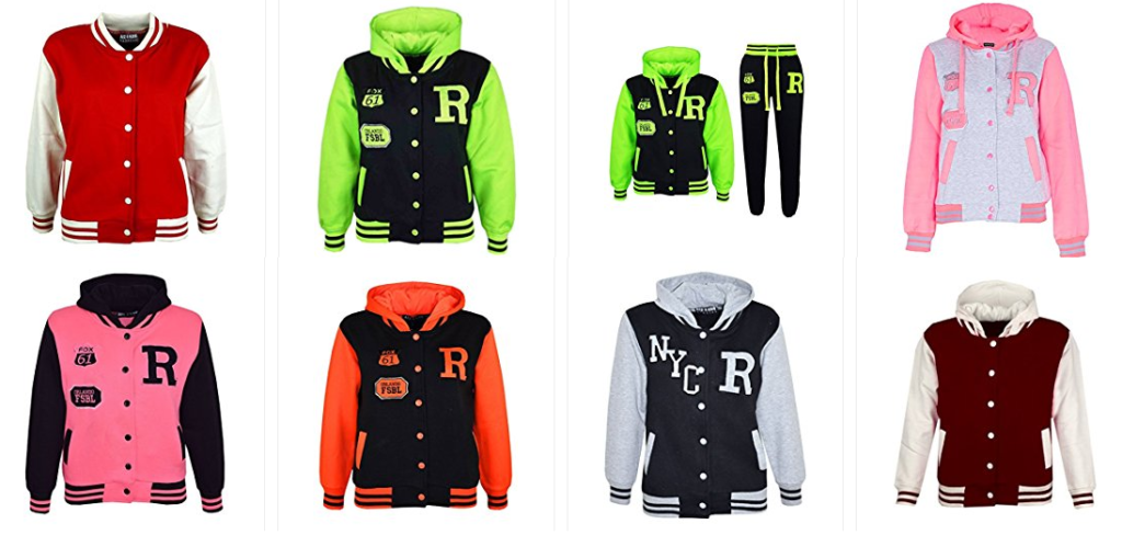 Baseball-Jacken für Mädchen & Jungen