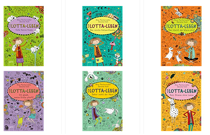 Lotta-Leben Bücher