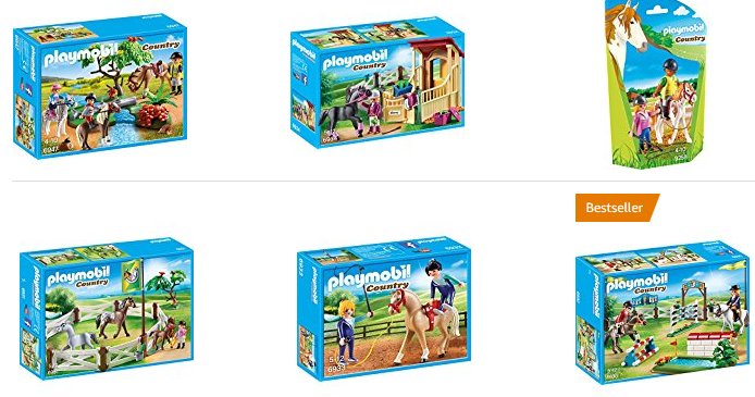 playmobil-Sets mit Pferden