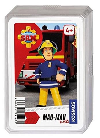 Mau-Mau für Kinder mit Feuerwehrmann Sam